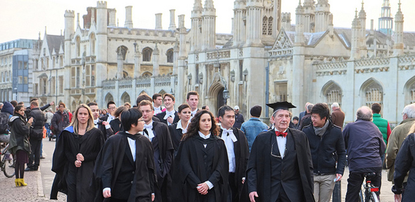 Cambridge university mature students remarkable, very